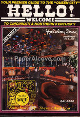 Hello! Welcome Premier Visitors Guide to Cincinnati & Northern Kentucky August 1978