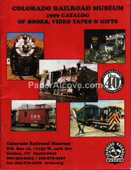 Colorado Railroad Museum 1999 Catalog