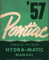 Pontiac Strato-Flight Hydra-Matic Manual 1956 1957 S-5704