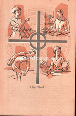 Riverside Community Church Cleveland 1960 vintage program Our Youth