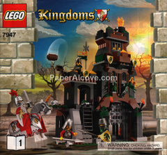 Lego Kingdoms #7947 2010 original instructions book