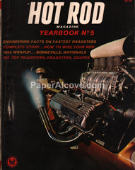 Hot Rod magazine Yearbook No. 5 1965 Dragsters Bonneville Roadters