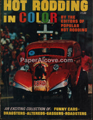 Hot Rodding in Color magazine No. 1 Summer 1970 dragsters funny cars