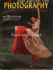 Popular Photography magazine equipment directory dancing May 1950