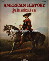 American History Illustrated magazine April 1978 horse cover Mexican-American War