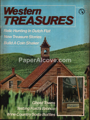 Western Treasures magazine February 1972 Dutch Flat Ghost Towns