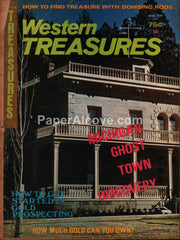 Western Treasures magazine June 1974 Michigan Ghost Town
