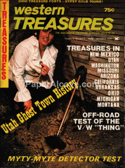 Western Treasures magazine October 1974 Utah Ghost Town