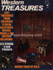 Western Treasures magazine October 1972 Gold Wagon Train