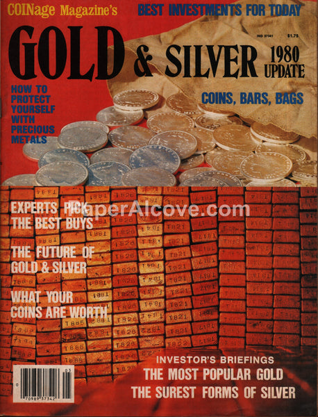 Coinage Gold & Silver magazine 1980 coins investments