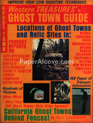 Western Treasures' Ghost Town Guide magazine 1973