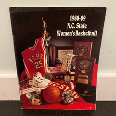 N.C. State womens basketball media guide 1988 1989 North Carolina