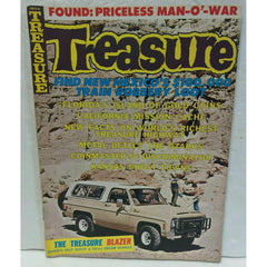 Treasure Magazine July 1975 Vol 6 No 7 Train Robbery Loot Kansas Ghost Towns