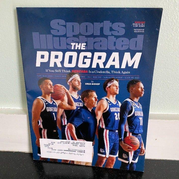 Sports Illustrated March 2021 Gonzaga Basketball Team Bulldogs The Program