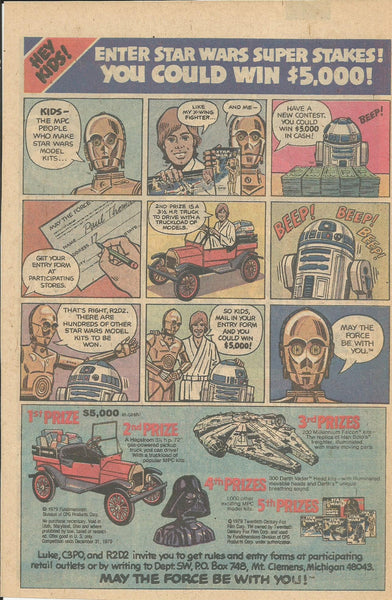 1980 Star Wars MPC Models Super Stakes  vintage print ad