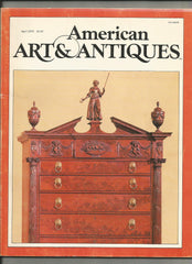 American Art & Antiques April 1979 vintage magazine
