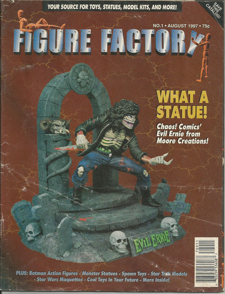 Figure Factory August 1997 toys models action figures catalog Evil Ernie
