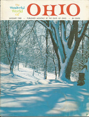 Wonderful World of Ohio vintage January 1968 tourism magazine