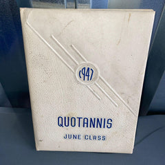 1947 West High School Yearbook Cleveland OH Quotannis
