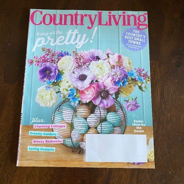 Country Living April 2021 magazine best small towns