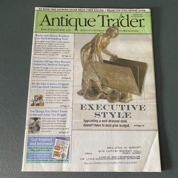 Antique Trader March 30 2016 Comic Art