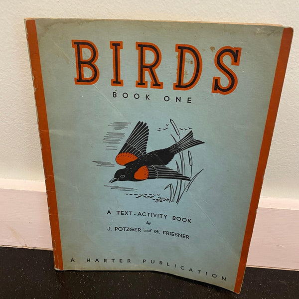 Birds Activity Book One J. Potzger 1936