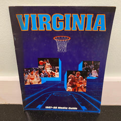University of Virginia Womens basketball media guide 1987 1988 UVA