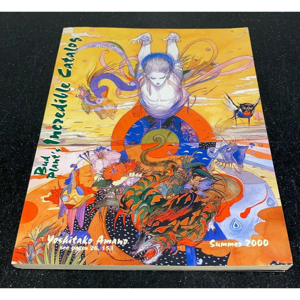 Bud Plant's Incredible Catalog Summer 2000 Yoshitako Amano Cover Art Reference