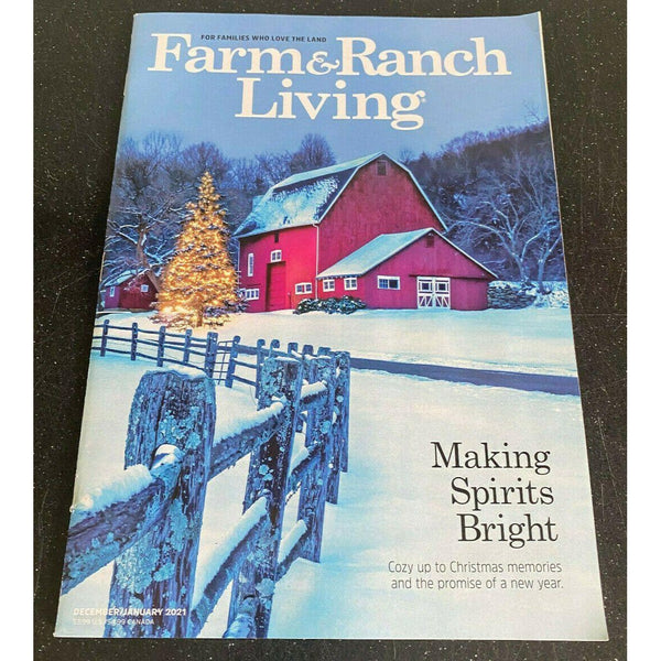 Farm & Ranch Living December 2020 January 2021 Antique Tractors Ford Farmall