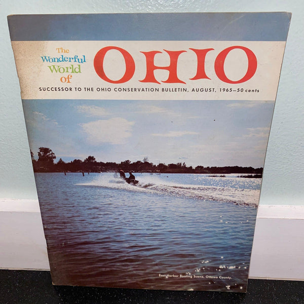 Wonderful World of Ohio August 1965 Indian Lake Camp Perry