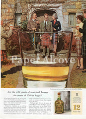 Chivas Regal Blended Scotch Whisky 1961 ad birthday toast