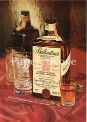Ballantine's Liqueur Blended Scotch Whisky 1961 ad