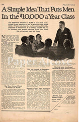Sherwin Cody School of English 1925 ad Rochester NY speaking and writing skills for success