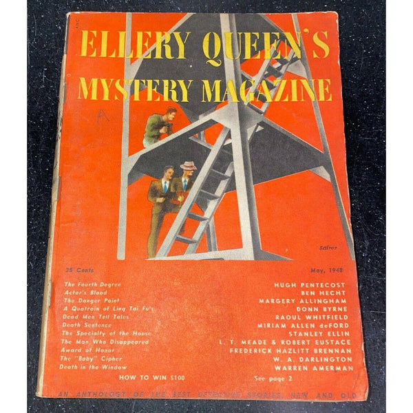 Ellery Queen's Mystery Magazine May 1948 Vol 12 No 54 Margery Allingham