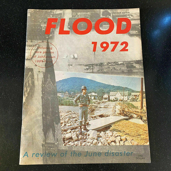 Johnstown PA Flood Commemorative 1972 Booklet Natural Disaster History