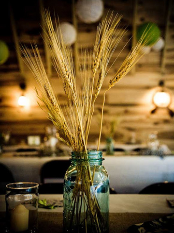 Home Decor Mason jar centerpiece