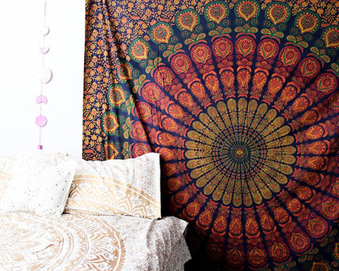 Mandala Tapestry for Bohemian Decor