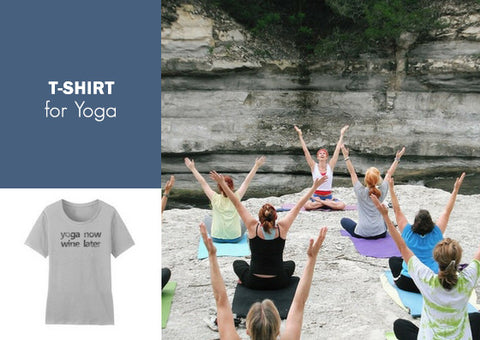 T-shirt for Yoga