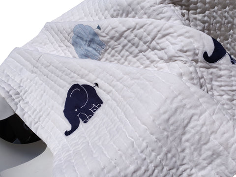 Elephant Quilt For Kids and Toddlers