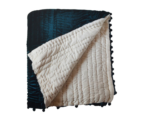 Teal Velvet Quilts, Handcrafted Custom Quilts - All Sizes