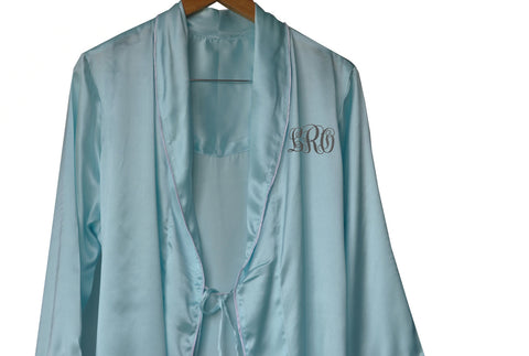 Buy Casa Amore Personalized Satin Robe