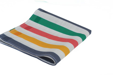 Multicolored Cotton Pocket Square