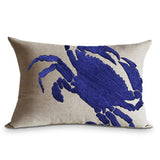 Crab Pillow Case, Ocean And Beach Theme Pillows Cover