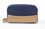 Mens travel toiletry bag, dopp kit