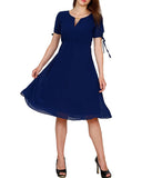 Customizable Women Dress Designed With Front Tie