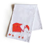 Handmade, personalized tea towels in sets of two handcrafted with care