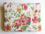 Handcrafted queen bedspreads and quilts in floral design