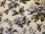Light cotton floral design bedspreads