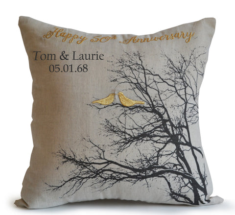 Amore Beaute 50th Anniversary Pillow