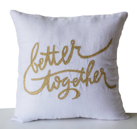 Amore beaute anniversary pillow
